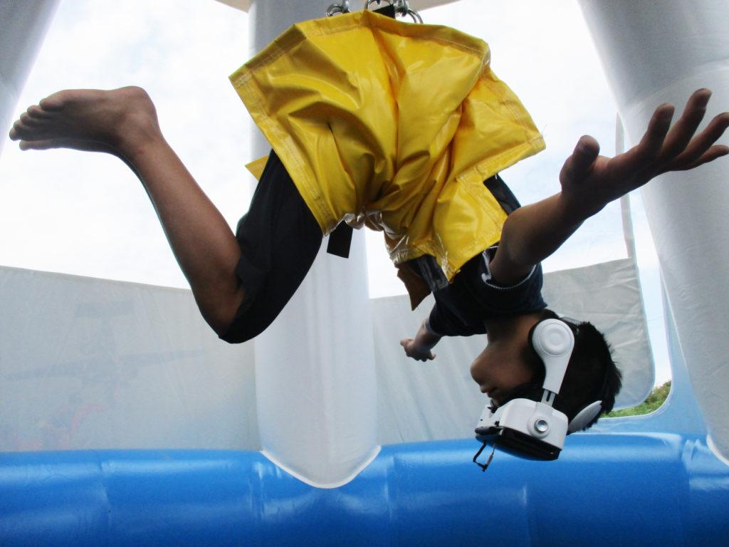VRスカイダイビング体験