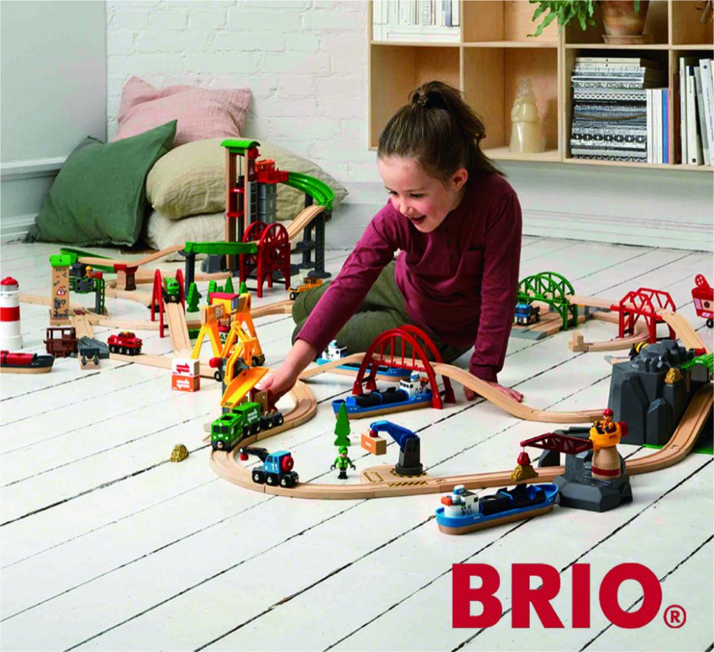 スウェーデンの老舗玩具メーカー「BRIO」体験広場