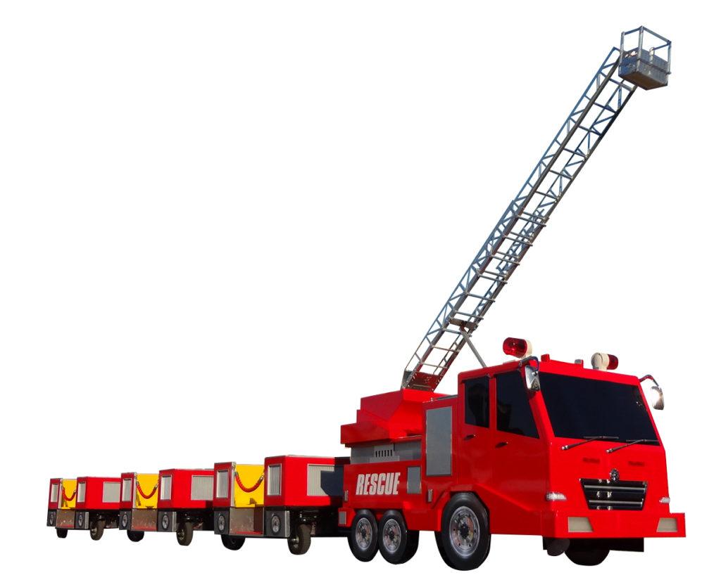 消防車ロードトレインがやってくる!